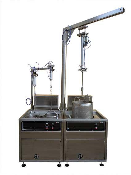 Banco da tintoria industriale modello TX020E-TX080E